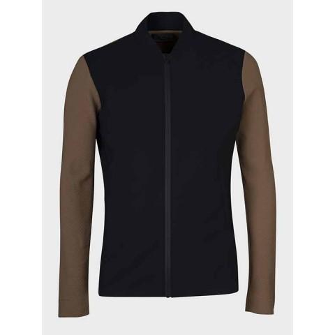 Men's Waterproof Zip-up Jacket Cavalleria Toscana - GIU194