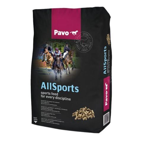 Pavo AllSports, 20 Kilos