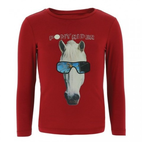 "Camiseta EQUI-KIDS ""PonyRider"" con holograma - Niños"