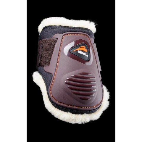 eLight Rear Fluffy Horse Boots eQuick