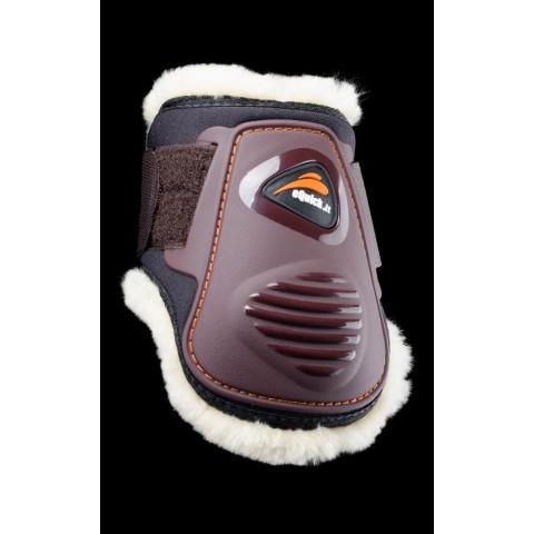Protectores eQuick eLight Traseros con Borreguillo y Velcro
