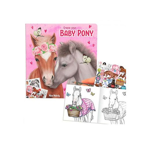 Create your Baby Pony Miss Melody