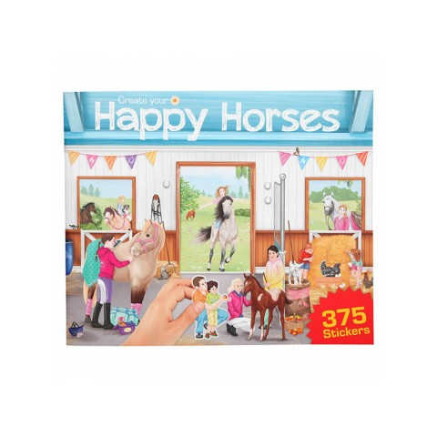 Libro Create your Happy Horses Miss Melody