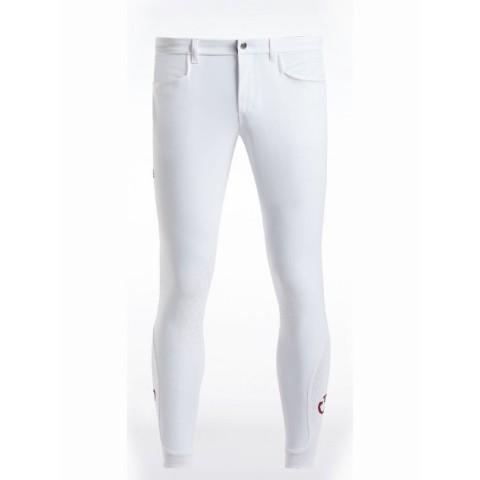 Men's Micro Perforated Breeches Cavalleria Toscana - PAU113