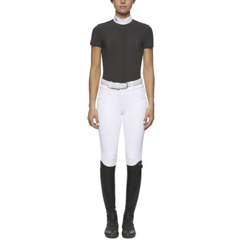 Polo Concurso Mujer Laser Perforated Tech Knit REVOLUTION Cavalleria Toscana