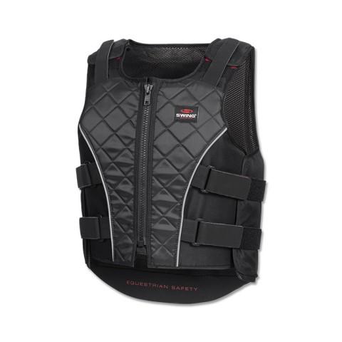 Junior Body Protector Waistcoat with Zip P19 Swing