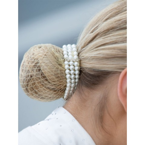 Hairnet with Pearl Equetech