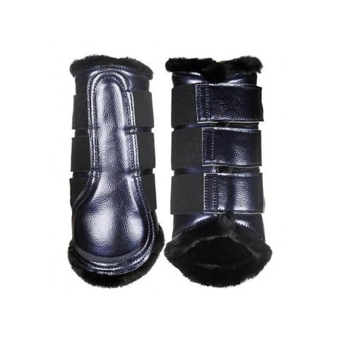 Horse Boots Metallic HKM