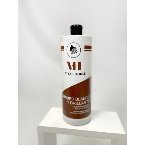 Shampoo White & Shiny Vital Horse (1000 ml)
