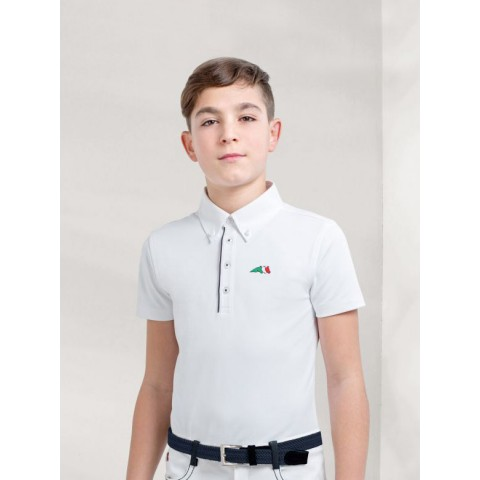 Polo Concurso Niño Justin Equiline