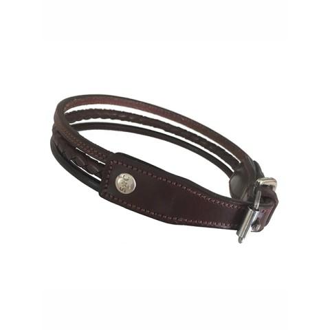 Dog Collar Nina Silver Crown