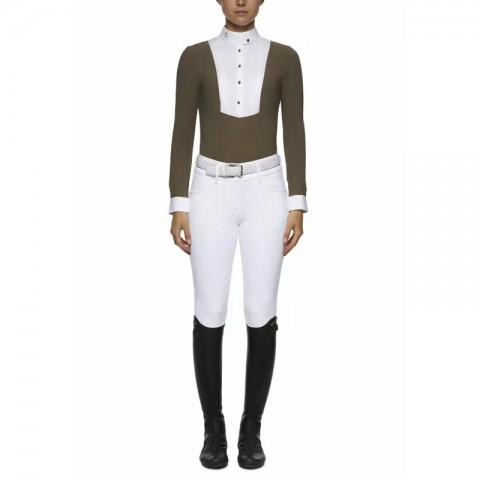 Polo Show Women Long Sleeve Cavalleria Toscana - CAD004