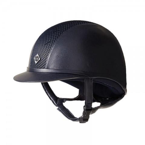 AYR8 Plus Leather Look Helmet Charles Owen