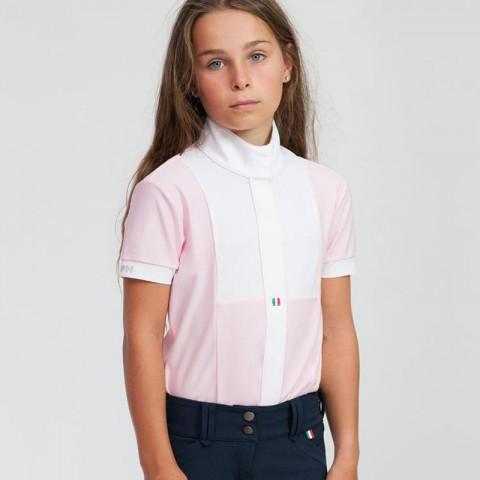 Arietta Girl Show Polo For Horses