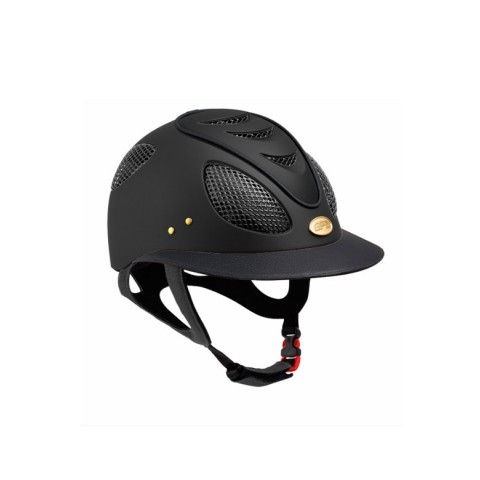 First Lady 2x Leather Visor+Piping Helmet GPA