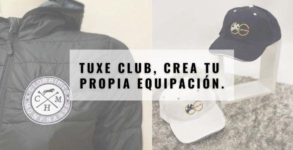 Tuxe Clubs, crea tu propia equipación.