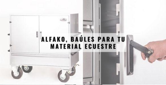 Alfako, baúles para tu material ecuestre