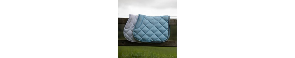 Saddle Pads & Earnets & Half Pads | Tuxe Life, Equestrian Shop Online